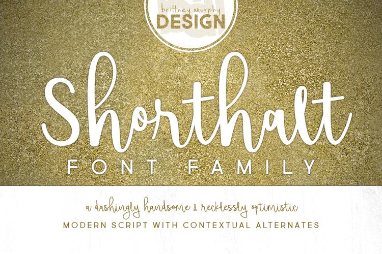 Shorthalt Font