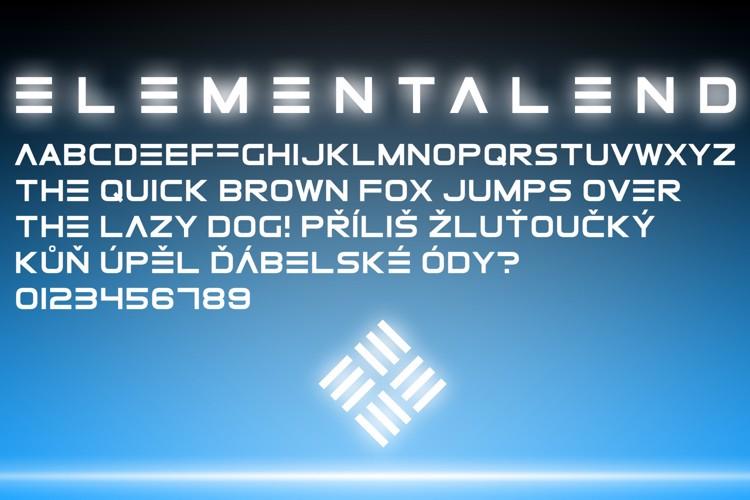 ElementalEnd Font