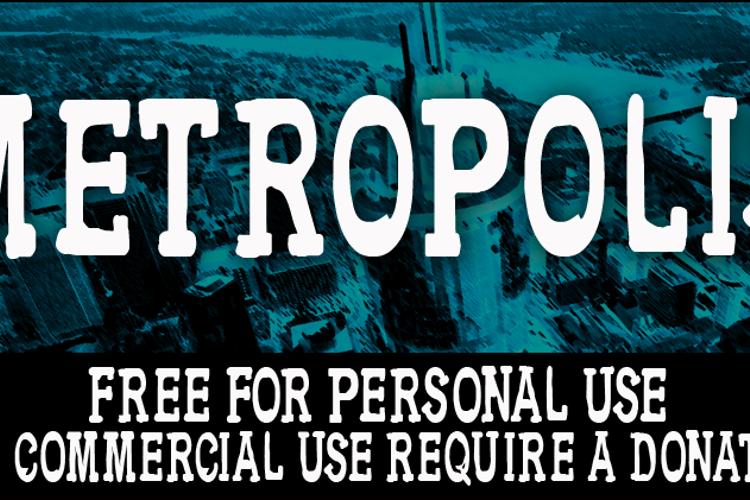 CF Metropolis Serif Font