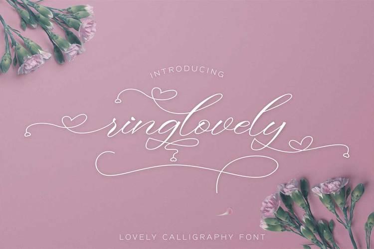 Ringlovely Font