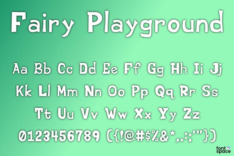 Fairy Playground Font