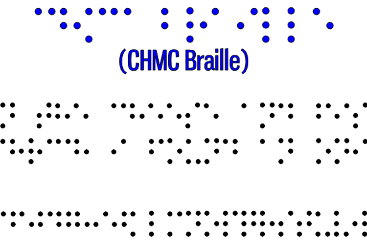 CHMC Braille Font
