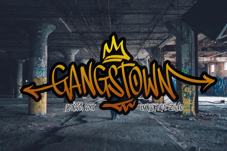 Gangstown GT Font