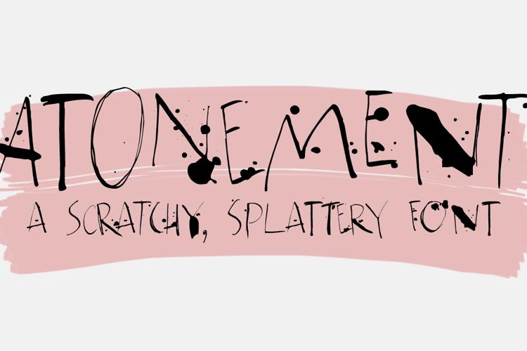 Atonement DEMO Font