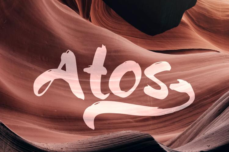 a Atos Font