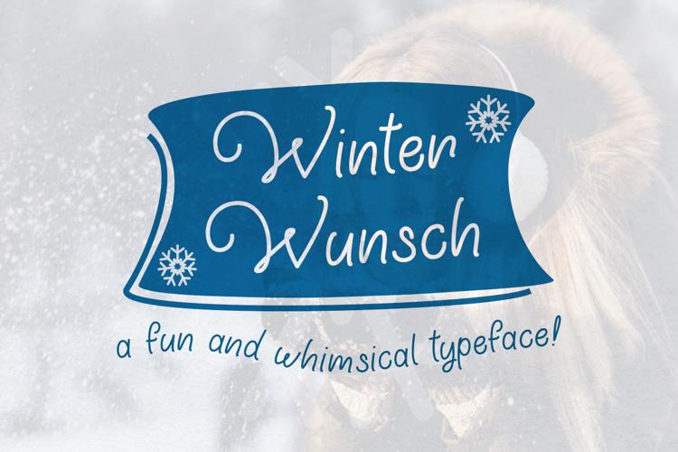 Winter Wunsch Font