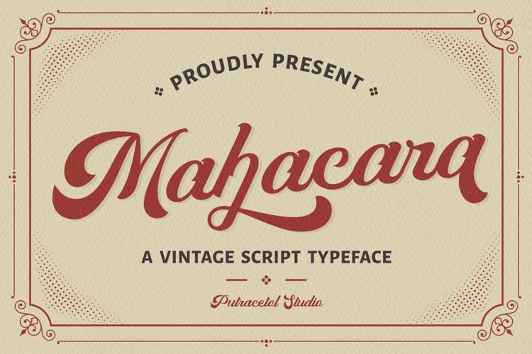 Mahacara Font