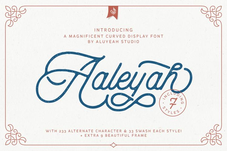 Aaleyah Font