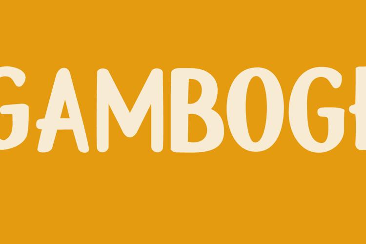 DK Gamboge Font