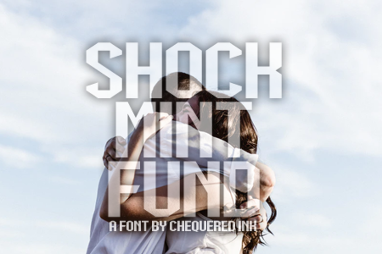 Shock Mint Fund Font