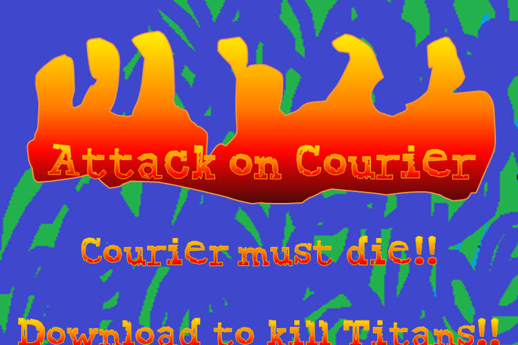 Attack on Courier Font