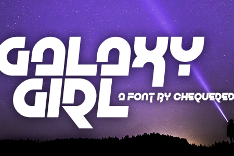 Galaxy Girl Font