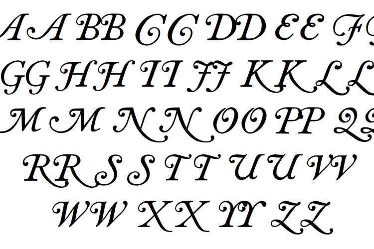 Caslon swash Font