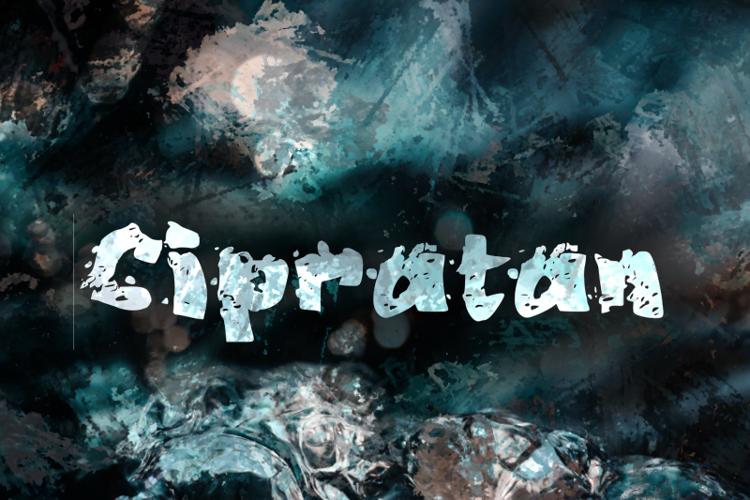 c Cipratan Font