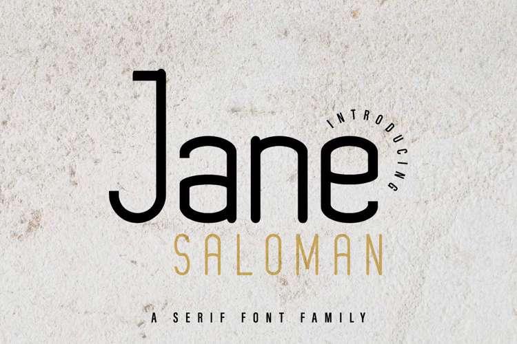Jane Saloman Font