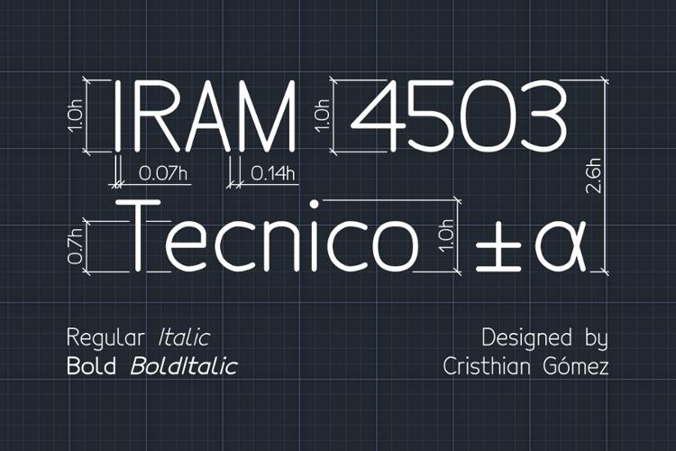 Tecnico Font