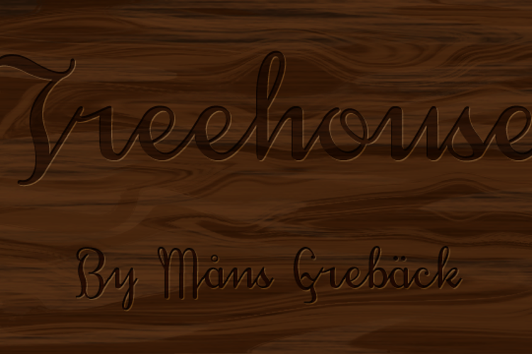 Treehouse DEMO Font