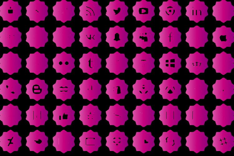 social media pro Font