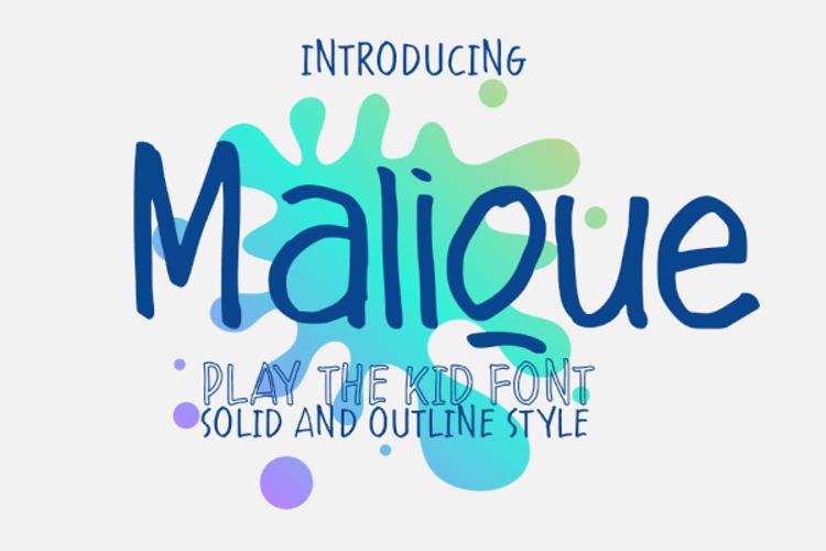 Malique Font