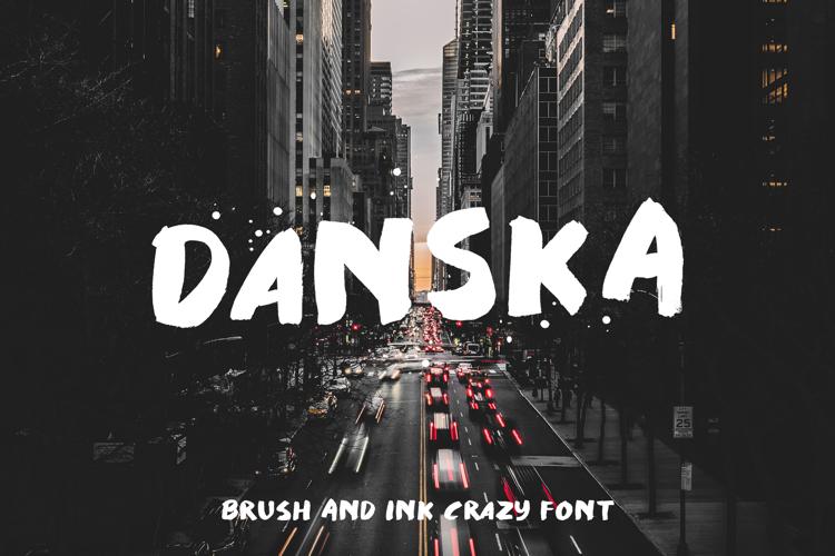 Danska Font