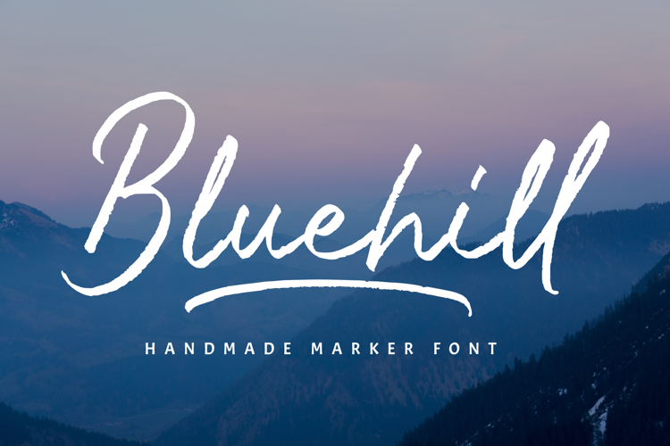 Bluehill Font