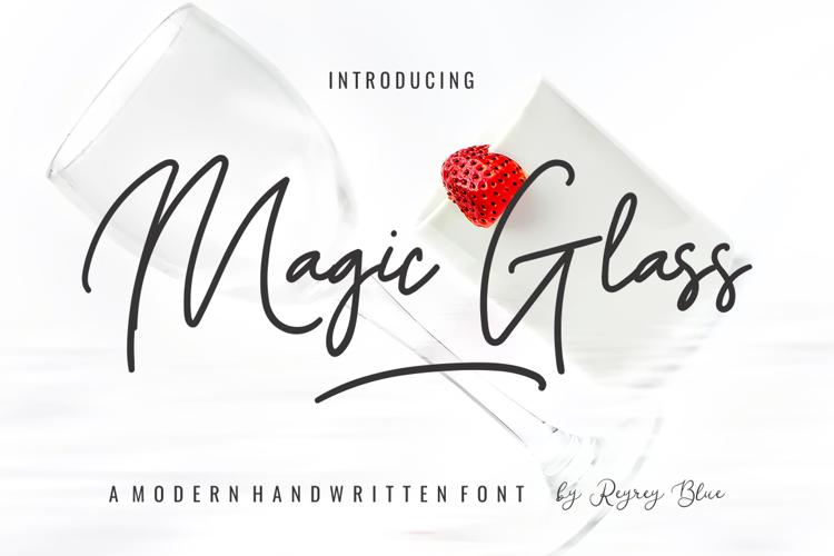 Magic Glass Font