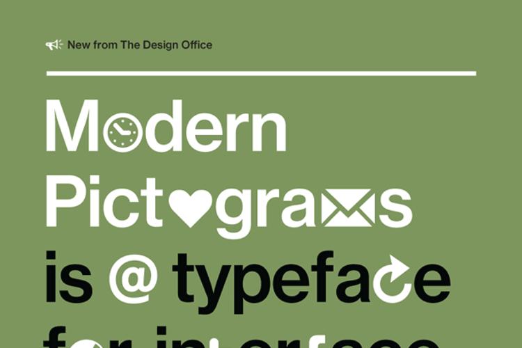 Modern Pictograms Font