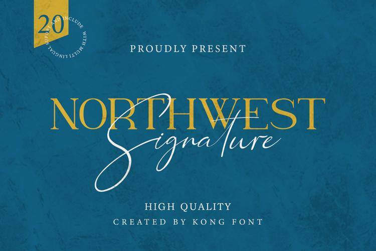 Northwest Signature Font