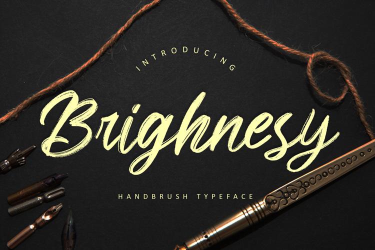 Brighnesy Font