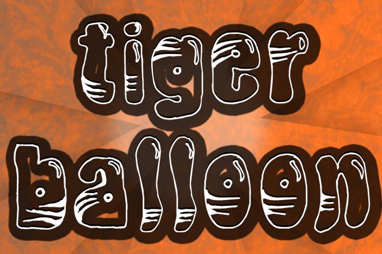 TigerBalloon Font