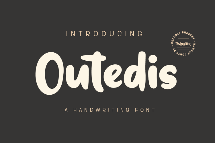 Outedis Personal Font