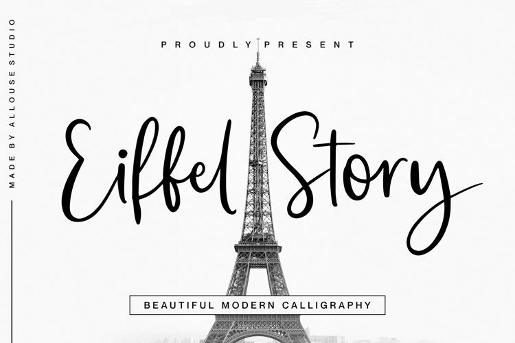 Eiffel Story Reguler Font