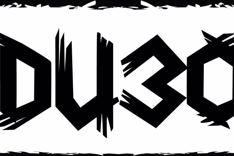 DU30 Font