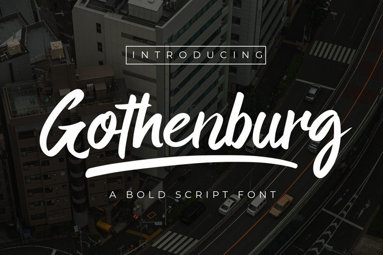 Gothenburg Font