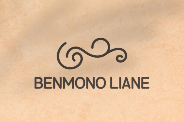 b Benmono Liane Font