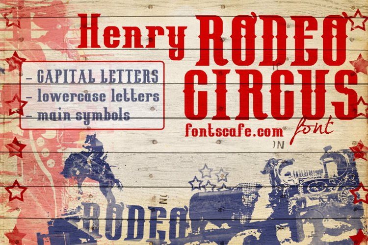 HenryRodeoCircus_demo Font