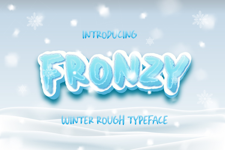 Fronzy Font