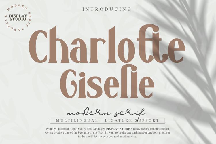 Charlotte Giselle Font