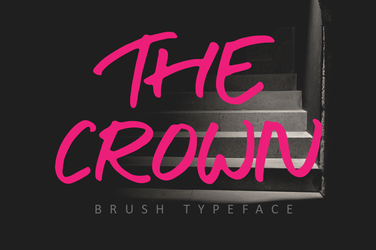 THE CROWN Font