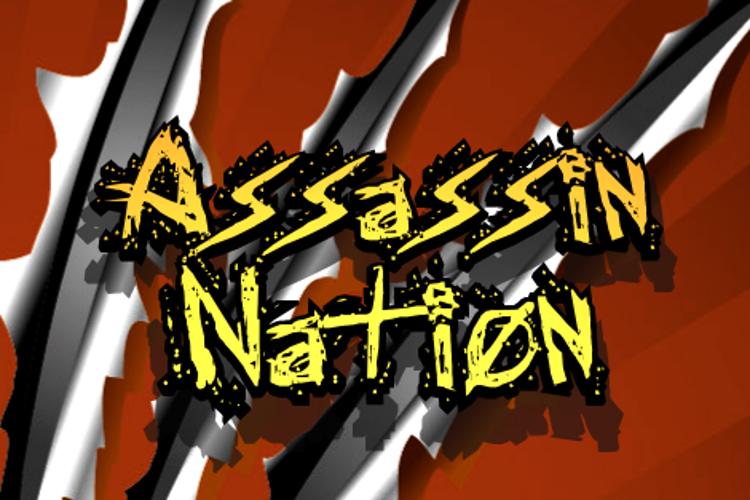 Assassin Nation Font