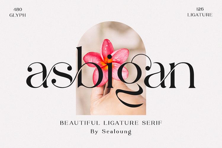 Asbigan Font