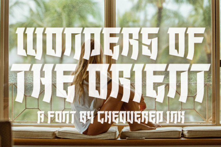 Wonders of the Orient Font