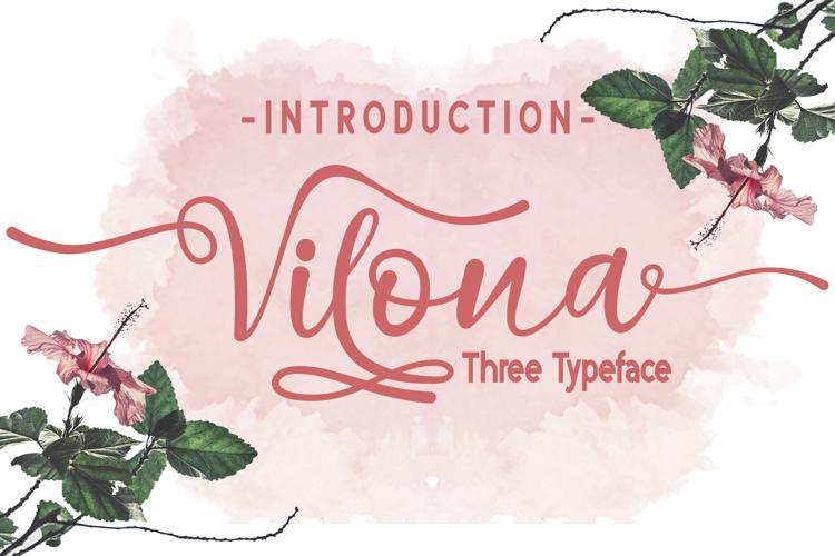 Vilona Italic Font