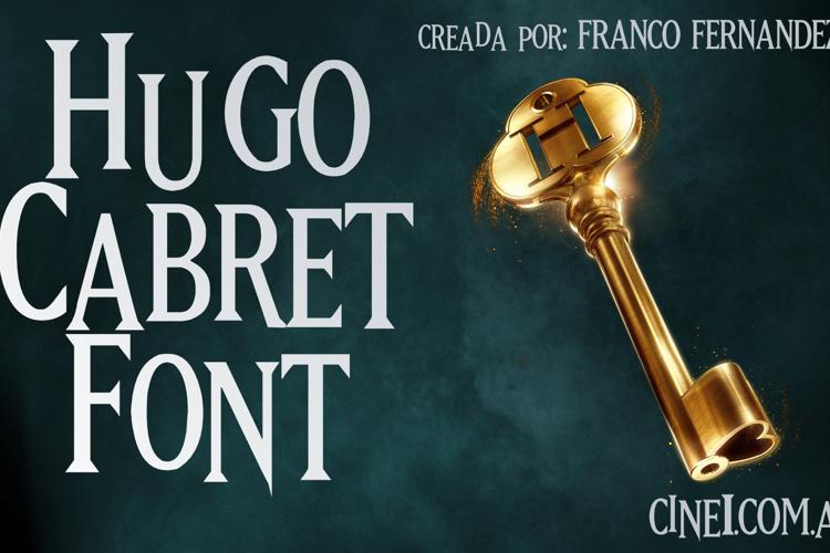 Hugo Cabret Font