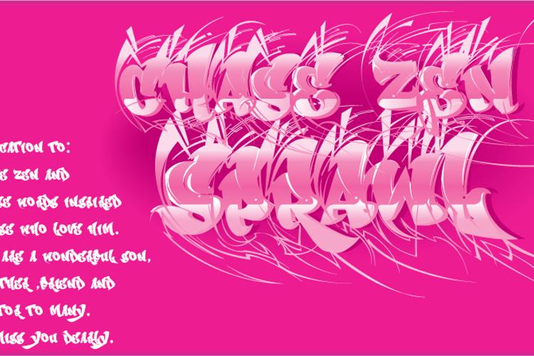 CHASE ZEN SPRAWL Font