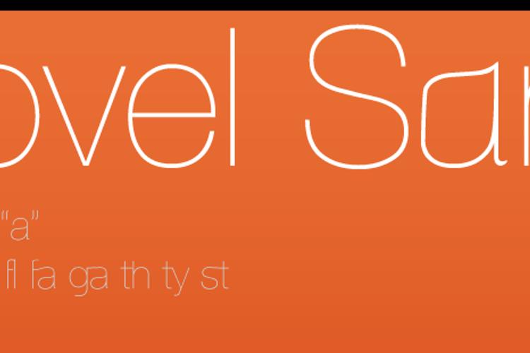 Aovel Sans Font