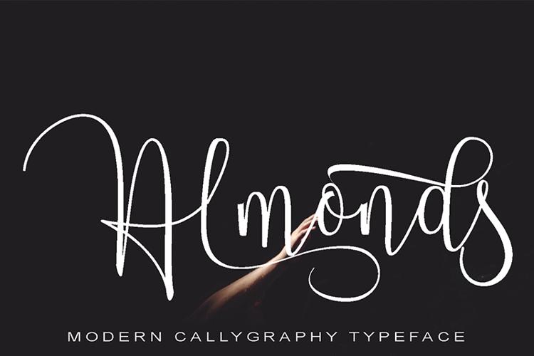 Almonds Font