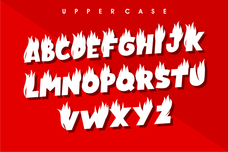 Crush N Burn ! Font