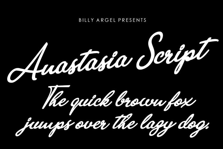 Anastasia Script Font