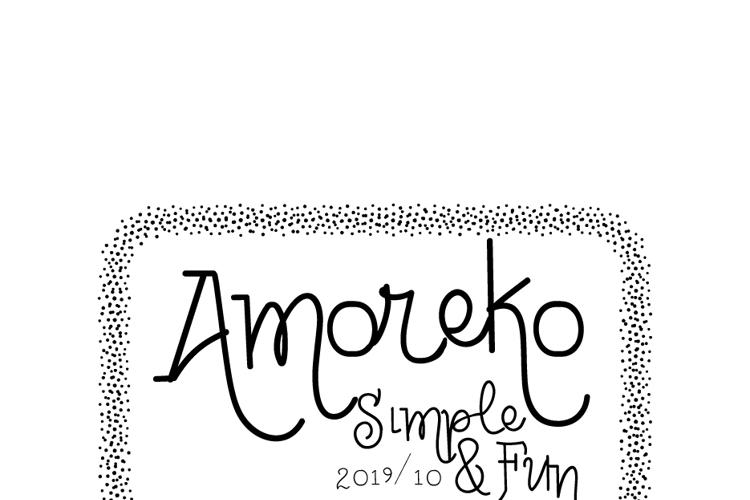 Vtks Amoreko Font